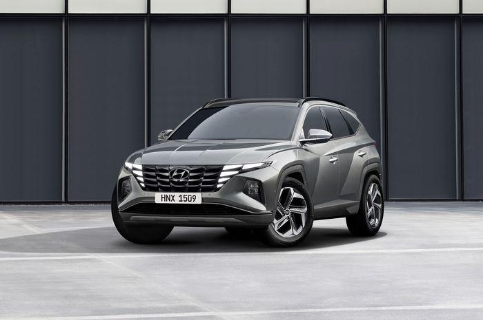 Resmi Meluncur Hyundai Tucson Generasi Ke-4 Desain Penuh Kejutan