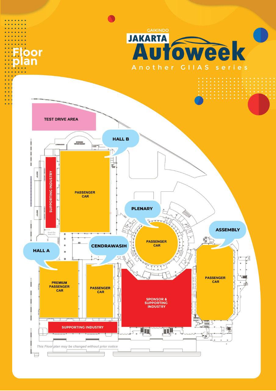 Floorplan Jakarta Auto Week