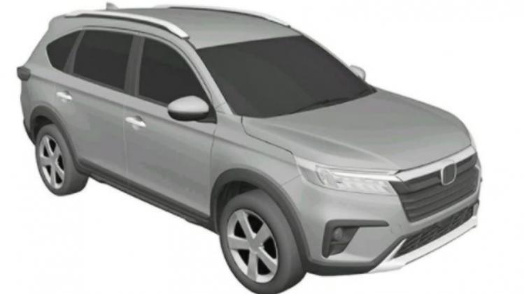 Beredar Gambar Paten BR-V Generasi Terbaru, Persis dengan N7X Concept?