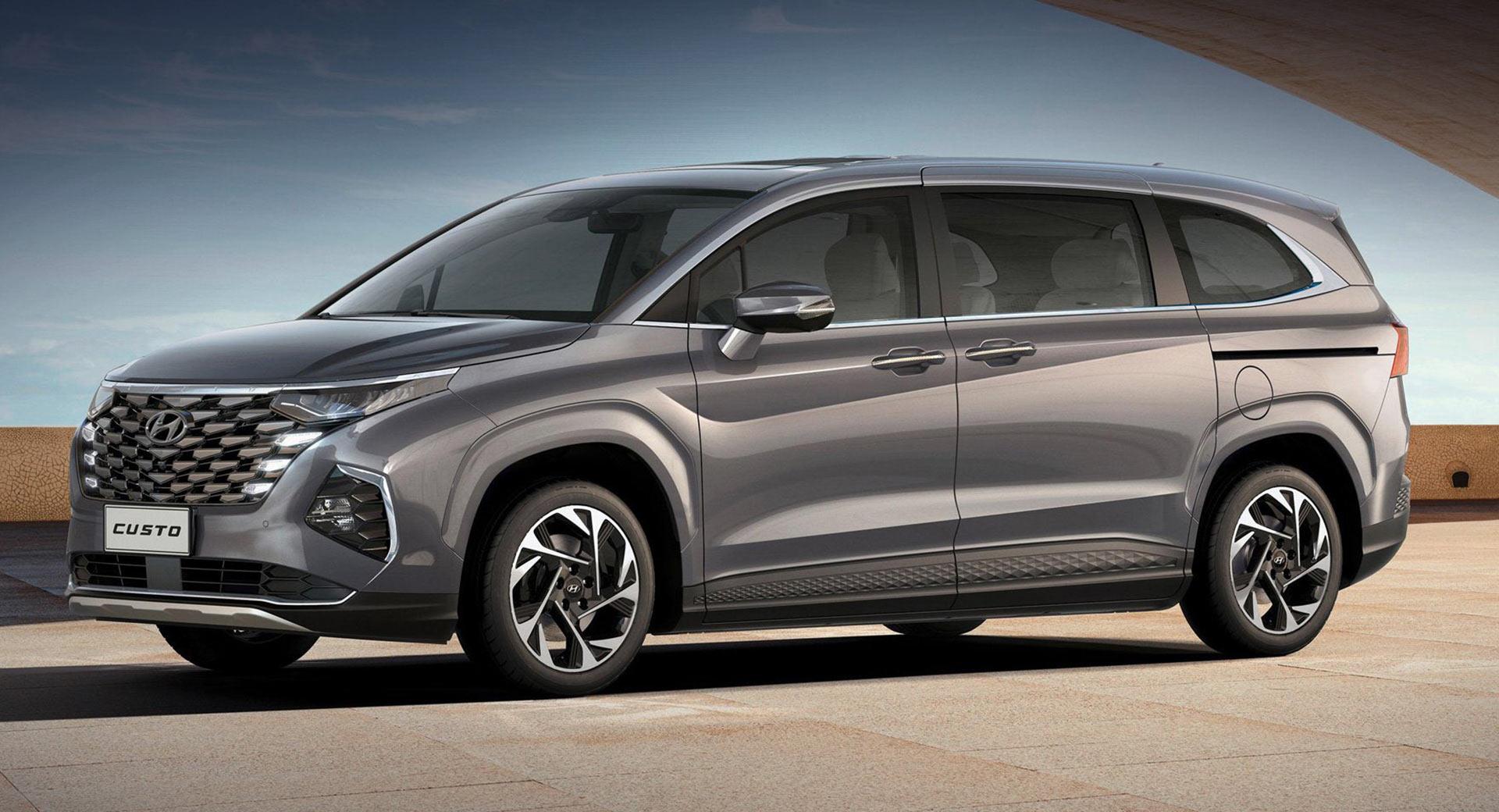 Hyundai Hadirkan Custo Sebagai MPV dengan Kabin Yang Futuristik